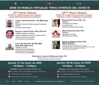 Promoción 9 y 10 panel virtual