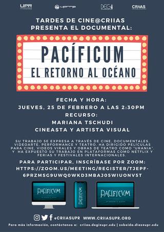 Tardes de Cine: Pacíficum: El Retorno del Océano