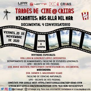 Promoción Tardes de Cine Migrantes