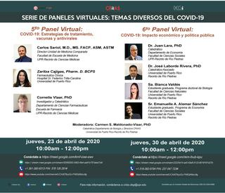 Promoción 5 y 6 panel virtual COVID-19